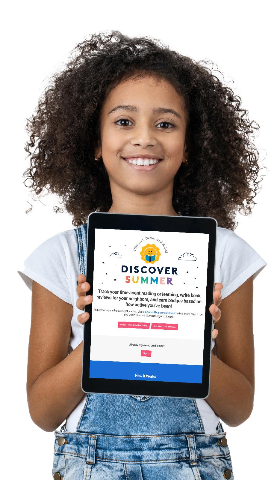 Discover Summer Beanstack app